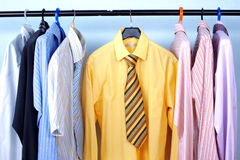 Next Day - Mix color Shirt and Tie Royalty Free Stock Image