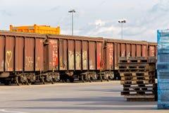 Next departure Stock Photo