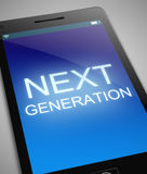 Next generation concept. Royalty Free Stock Photos