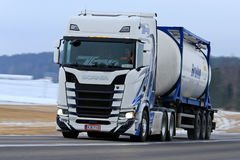 Next Generation Scania S500 Transport Stock Images