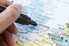 Next holiday destination in London Stock Images