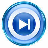 Next icon blue Stock Images