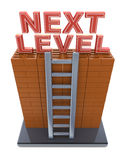 Next level. Progress concept Royalty Free Stock Photography