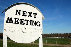 Next Meeting Stock Images