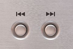 Next and previous button Royalty Free Stock Photo