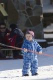 The next ski champion Royalty Free Stock Photos