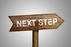 Next Step Concept Royalty Free Stock Photos