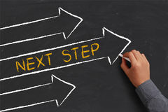Next Step Concept Royalty Free Stock Image