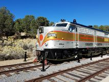 Next stop, Grand Canyon, all aboard! stock photo