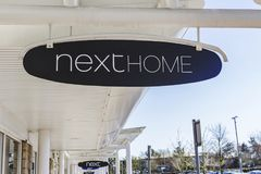 Next Store Sign Telford Retail Park Royalty Free Stock Image