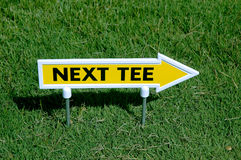 Next tee. Sign Stock Photos