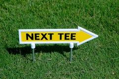 Next tee. Sign stock photos