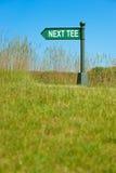 Next tee sign Royalty Free Stock Photos