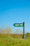 Next tee sign Stock Images