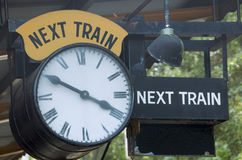 Next train Stock Images