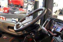 NextGen Scania Truck Interior royalty free stock image