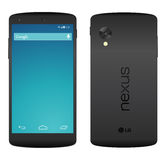 Nexus 5 Royalty Free Stock Image