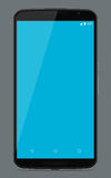 Nexus 6 Smart Phone. Isolated On Grey Background Royalty Free Stock Images