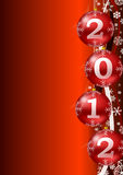 Ney year 2012 background Royalty Free Stock Image