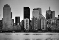 Ney York Skyline-Tageszeit Lizenzfreie Stockfotografie