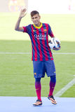 Neymar av FCet Barcelona Arkivfoto
