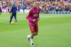 Neymar da Silva of FC Barcelona Royalty Free Stock Photos