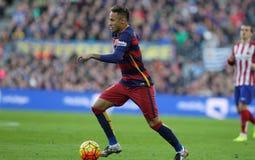 Neymar da Silva of FC Barcelona Royalty Free Stock Images