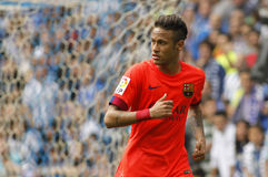 Neymar da Silva of FC Barcelona Stock Photo