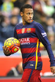 Neymar da Silva of FC Barcelona royalty free stock photography