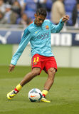 Neymar da Silva of FC Barcelona Stock Images