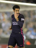Neymar DA Silva van FC Barcelona Stock Foto
