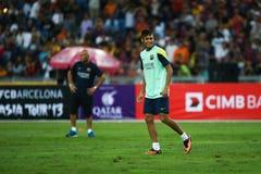 Neymar a Dinamarca Silva Santos Júnior Imagens de Stock Royalty Free
