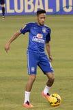Neymar Dos Santos Jr Royaltyfri Bild