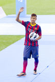 Neymar - FC Barcelona lizenzfreies stockfoto