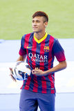 Neymar - FC Barcelona Royalty Free Stock Photography