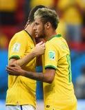 Neymar jr Coupe du monde 2014 Royalty Free Stock Image