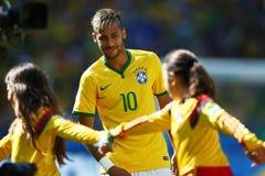 Neymar jr Coupe du monde 2014 Stock Images