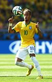 Neymar jr Coupe du monde 2014 Royalty Free Stock Photography