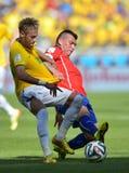 Neymar jr Coupe du monde 2014 Stock Photography