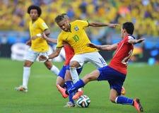 Neymar jr Coupe du monde 2014 Stock Image