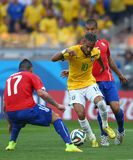 Neymar jr Coupe du monde 2014 Royalty Free Stock Photography