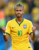 Neymar jr Coupe du monde 2014 Stock Photography
