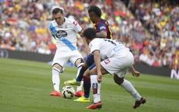 Neymar jr FC Barcelone v La Corogne Liga - Espagne Royalty Free Stock Photo