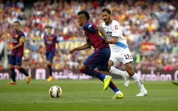 Neymar jr FC Barcelone v La Corogne Liga - Espagne Stock Photo