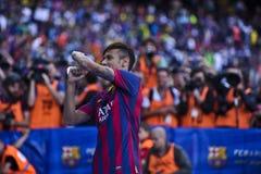 Neymar Jr Official Presentation as FC Barcelona player Stock Photography