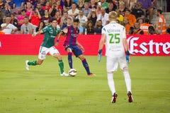 Neymar-jr. von FC Barcelona stockfotos