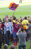 Neymar van FC Barcelona Royalty-vrije Stock Foto