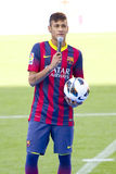 Neymar von FC Barcelona lizenzfreies stockbild