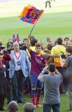 Neymar von FC Barcelona lizenzfreies stockfoto