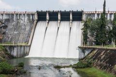 Neyyar水库在喀拉拉 库存照片